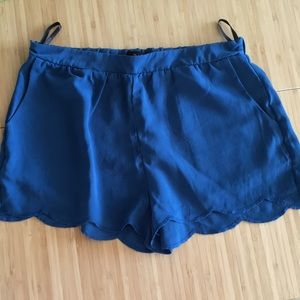 Pants - Scallop shorts